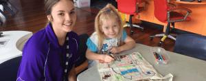 Shelby-volunteer-fun-on-four