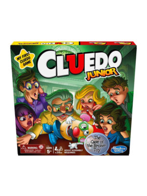 Cluedo Junior Board Game Resized