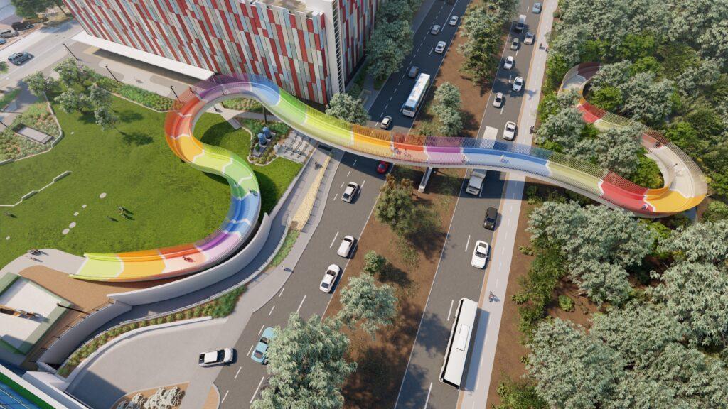 The Kids' Bridge Final Colour Scheme