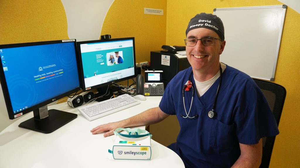 David Sommerfield Consultant paediatric anaesthesist